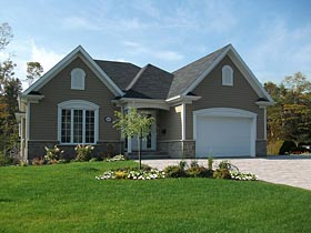 Traditional House Plan 76434 Elevation