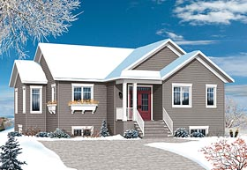 Country Traditional House Plan 76446 Elevation