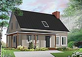 Plan Number 76470 - 1772 Square Feet