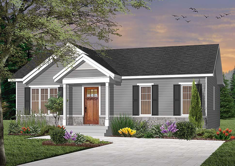 House Plan 76481