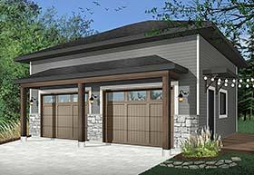 Garage Plan 76513
