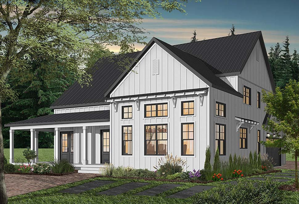 Cape Cod, Country, Craftsman, Farmhouse, Ranch House Plan 76521 with 4 Beds, 4 Baths, 3 Car Garage Picture 8
