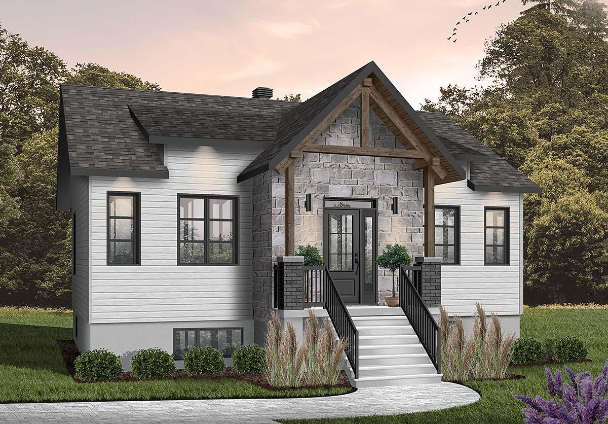 House Plan 76558