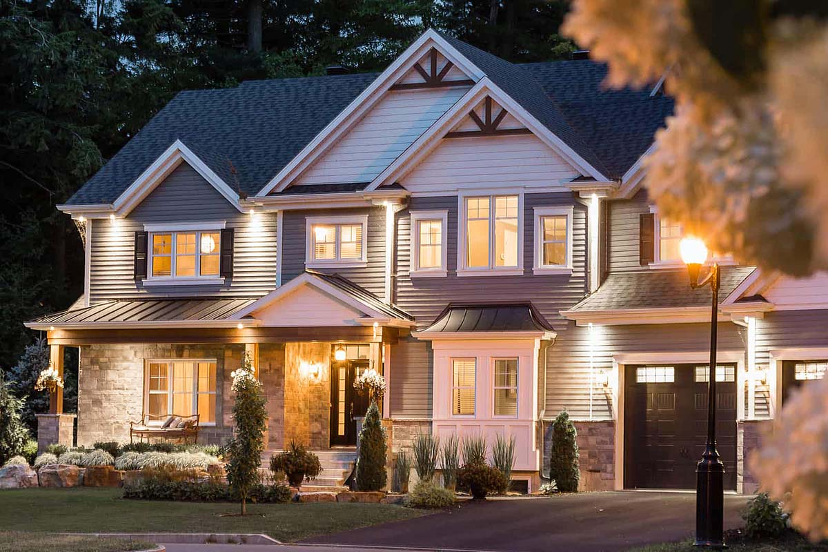 Craftsman, Traditional House Plan 76561 with 4 Beds, 3 Baths, 2 Car Garage Picture 1