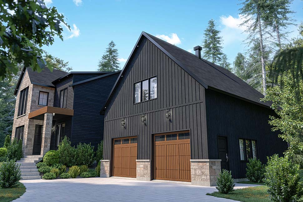Craftsman, Farmhouse House Plan 76573 with 4 Beds, 3 Baths, 2 Car Garage Picture 11