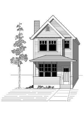 Plan Number 76801 - 1669 Square Feet
