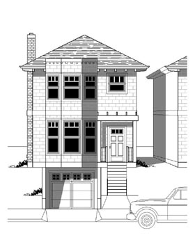 Plan Number 76802 - 1606 Square Feet