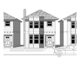 Plan Number 76805 - 1606 Square Feet