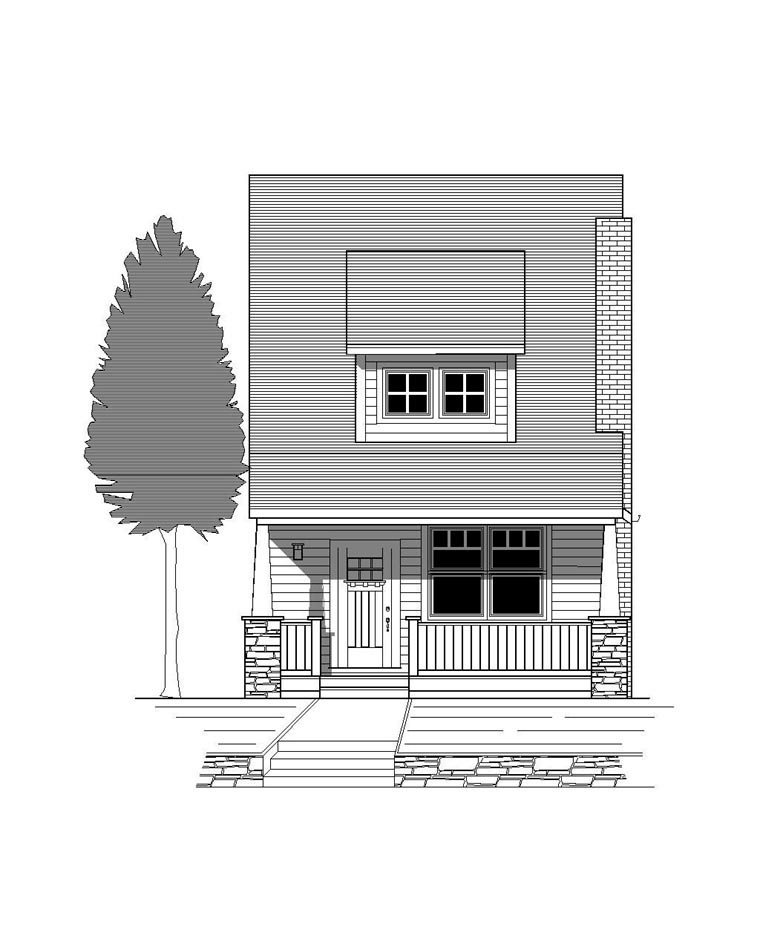 House Plan 76806