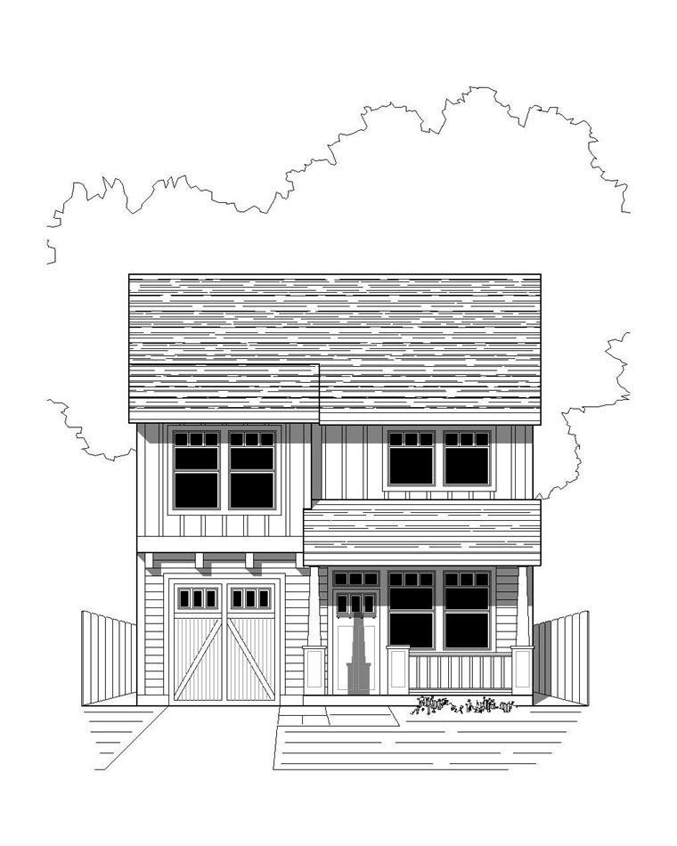 House Plan 76811