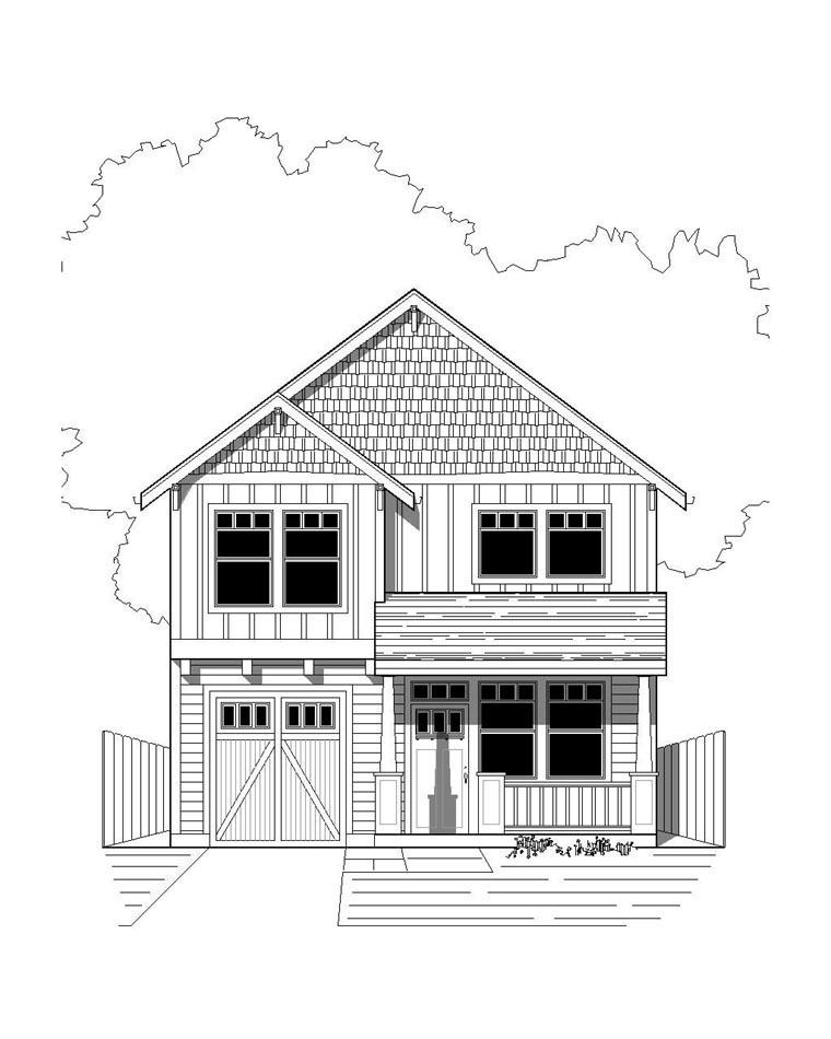 House Plan 76812