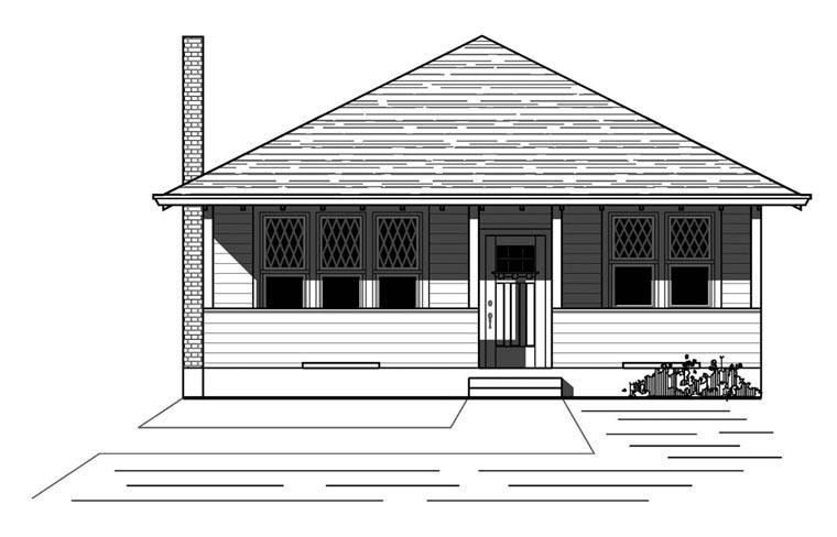 House Plan 76818
