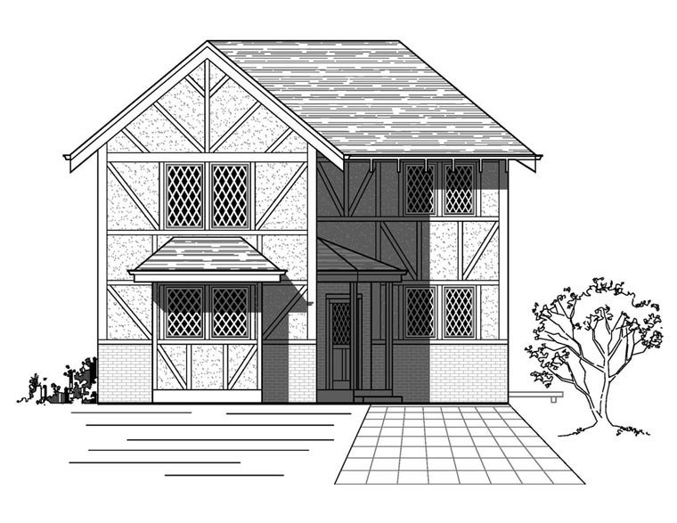 House Plan 76820