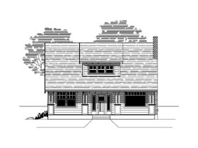 Bungalow Craftsman House Plan 76825 Elevation