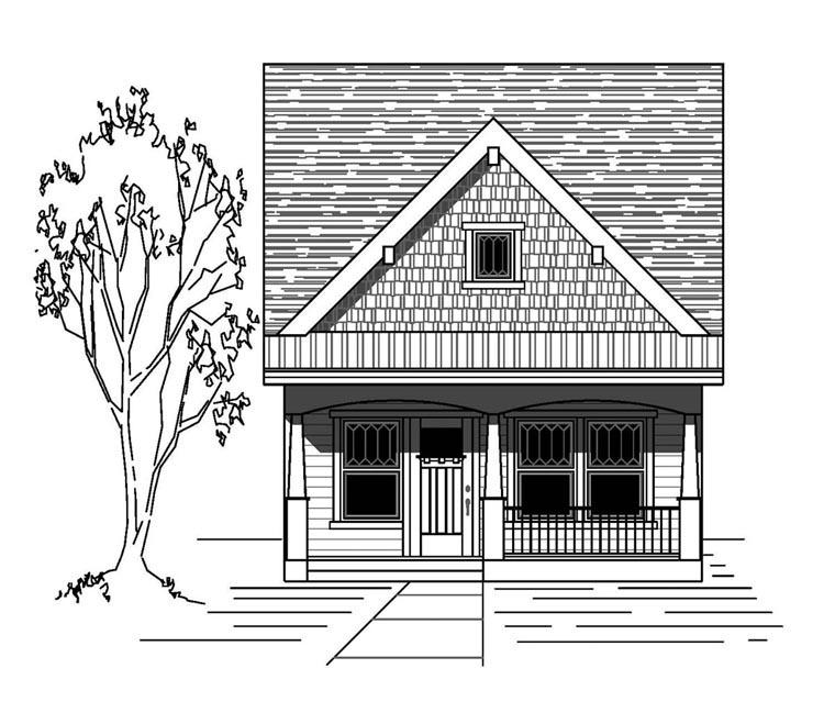 House Plan 76829