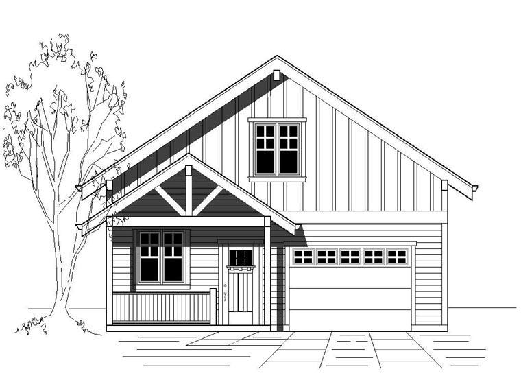 House Plan 76833