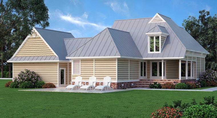 Victorian House Plan 76901 Rear Elevation