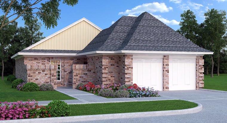 House Plan 76904 Elevation