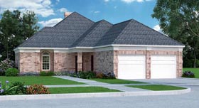 House Plan 76908 Elevation