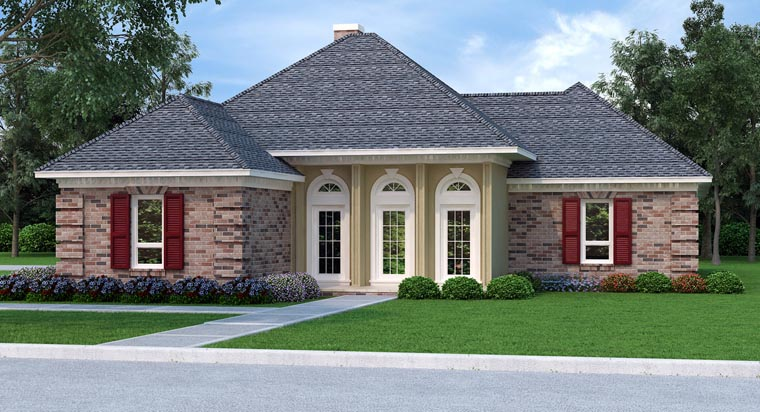 House Plan 76909