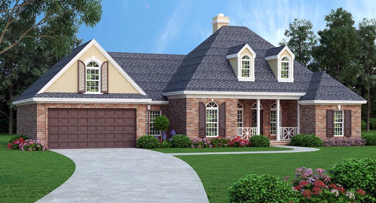 House Plan 76910 Elevation