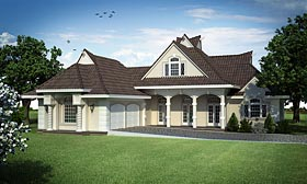French Country House Plan 76911 Elevation