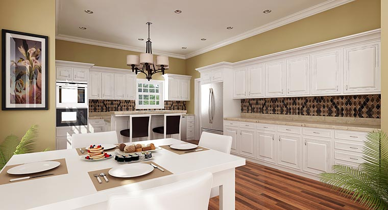 Country, Farmhouse, Traditional House Plan 76912 with 4 Beds, 3 Baths, 1 Car Garage Picture 1