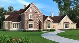 European Traditional House Plan 76913 Elevation