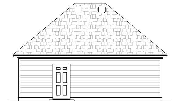 Country, European, French Country House Plan 76915 with 3 Beds, 3 Baths, 2 Car Garage Picture 2