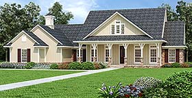 Country House Plan 76933 Elevation