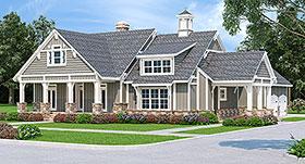 Craftsman House Plan 76935 with 3 Beds, 2 Baths, 2 Car Garage Elevation