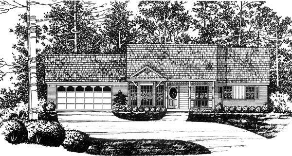 House Plan 77000