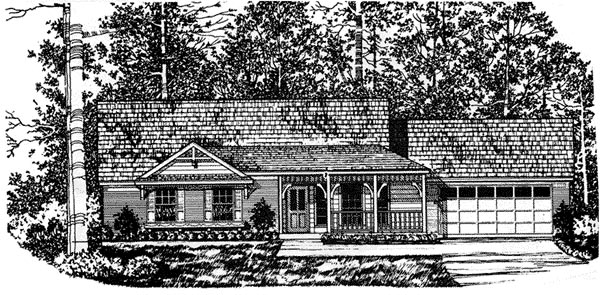 House Plan 77005