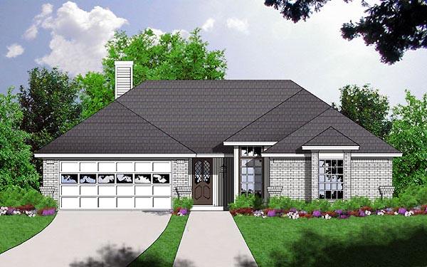 House Plan 77006