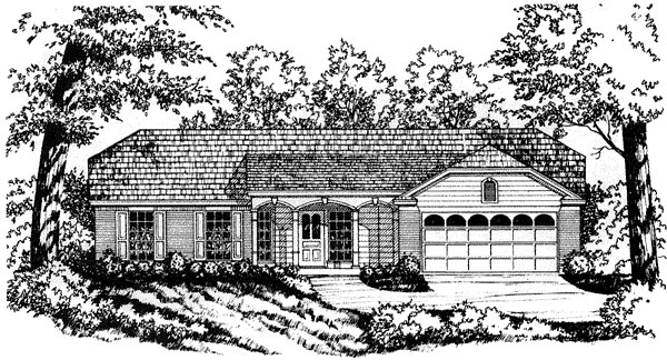 House Plan 77007