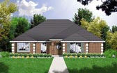 Plan Number 77014 - 1415 Square Feet