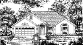 Plan Number 77019 - 1454 Square Feet