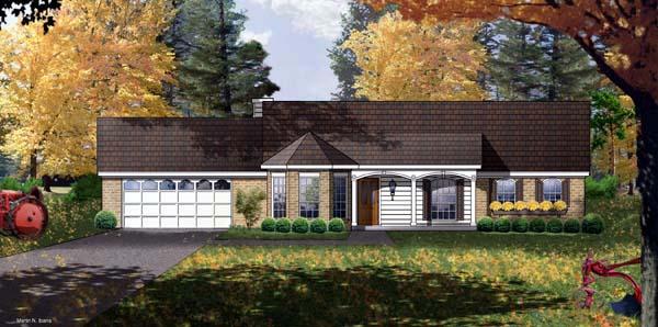 House Plan 77021