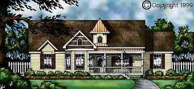 Country House Plan 77039 Elevation