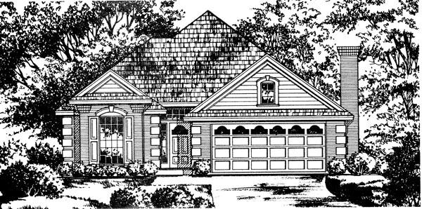 House Plan 77072