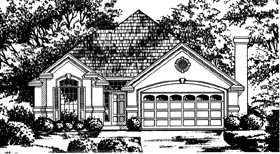 Traditional House Plan 77073 Elevation