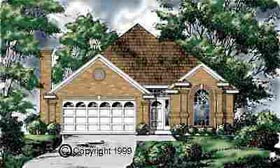 Traditional House Plan 77074 Elevation