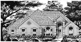 Traditional House Plan 77076 Elevation