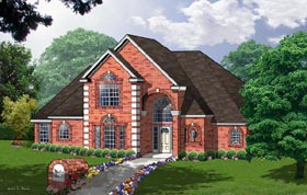 Traditional House Plan 77083 Elevation