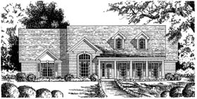 Country House Plan 77097 Elevation