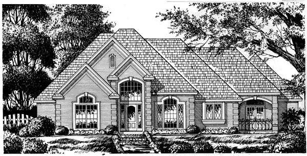 House Plan 77111