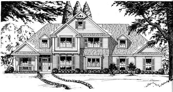 House Plan 77113
