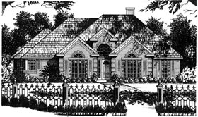Plan Number 77134 - 1841 Square Feet