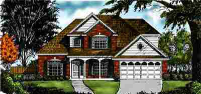 Country Traditional House Plan 77152 Elevation