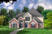 Plan Number 77156 - 2705 Square Feet